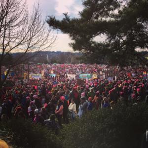 Marcia dei diritti delle donne a Seattle
