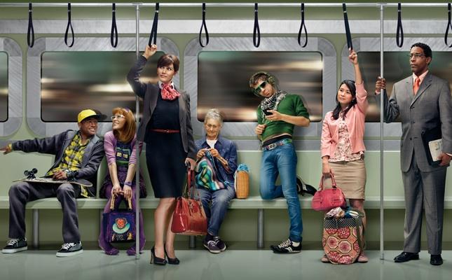 I passeggeri che troverete su qualsiasi treno…