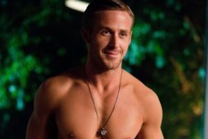 Ryan Gosling pettorali