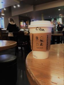 Cilia Starbucks