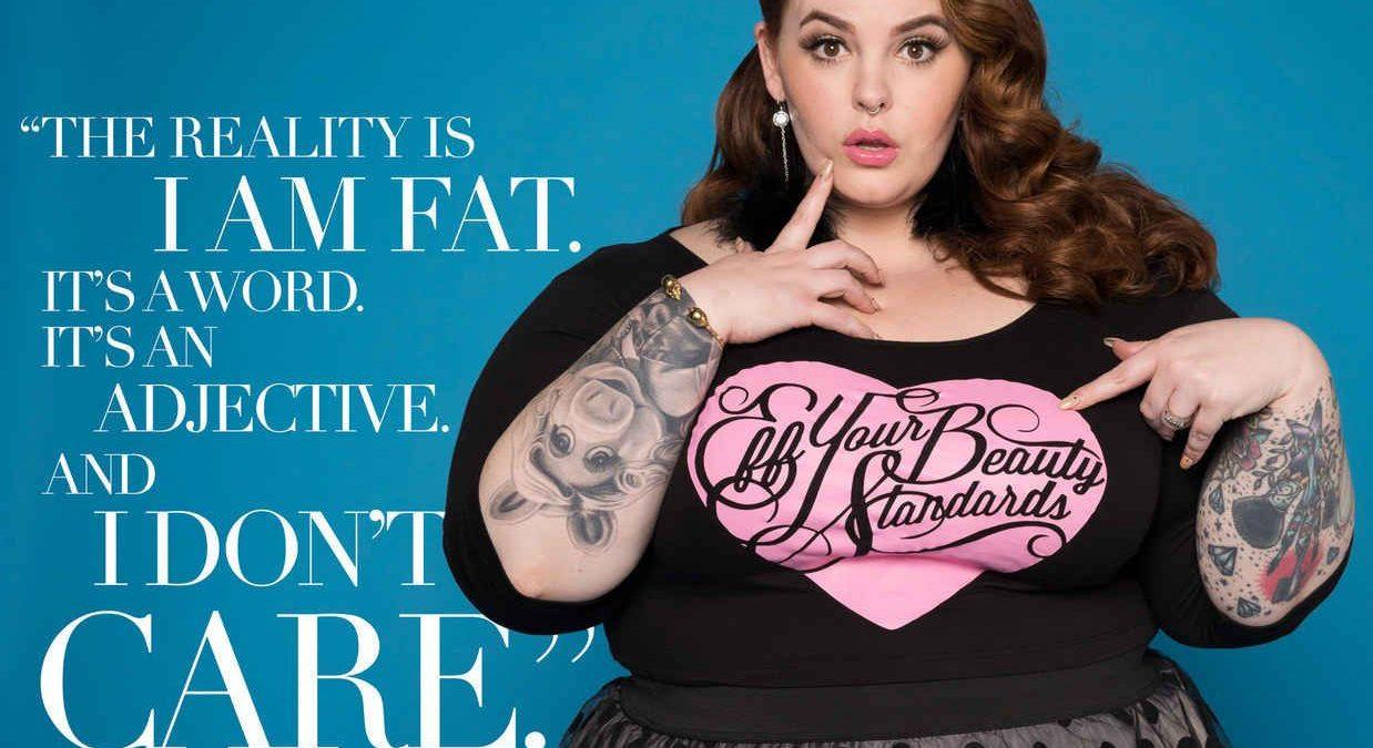 Modella XXL oppure solo grande obesa?