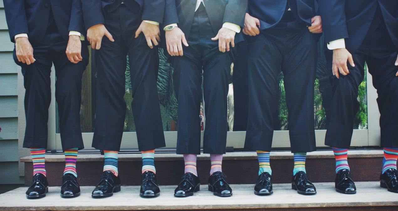 Uomini e calzini: un binomio mortale