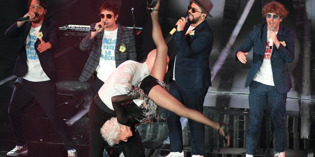Sanremo 2018: dalla Scimmia Nuda alla Vecchia Figa