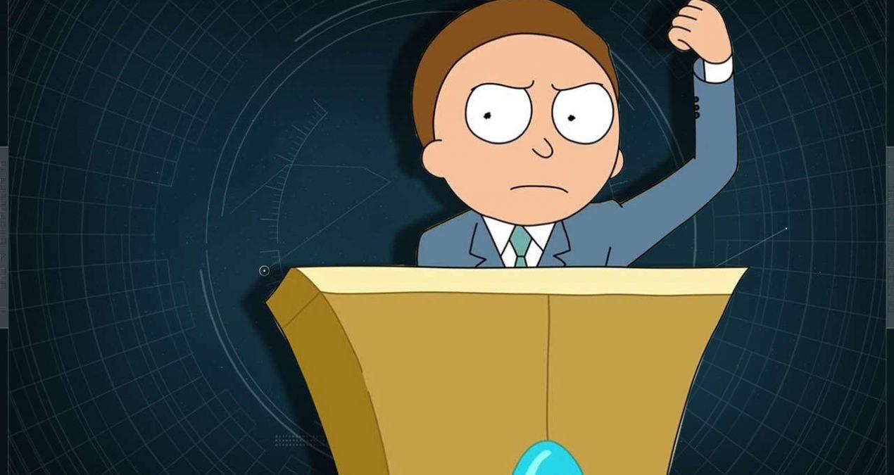 La nostra politica è un episodio di Rick e Morty