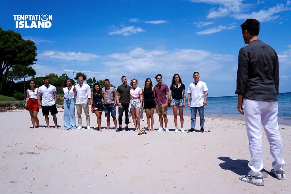 Temptation Island. Mare-sole-corna