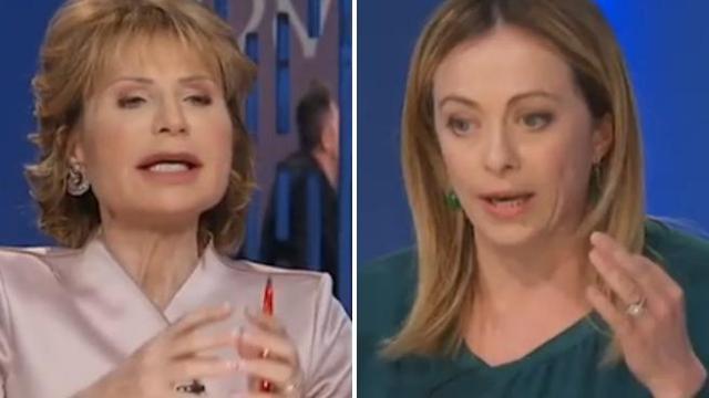 Lilli Gruber e Giorgia Meloni a confronto: dal bianco al nero passando per l'incoerenza