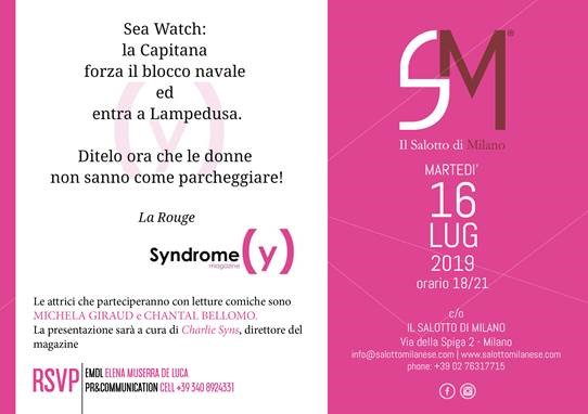 Syndrome Magazine al Salotto di Milano