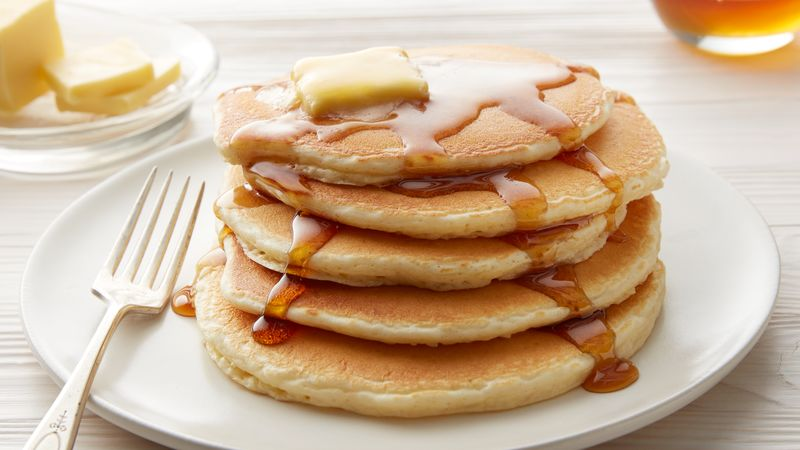 Cronache di una dieta: il pancake destrutturato