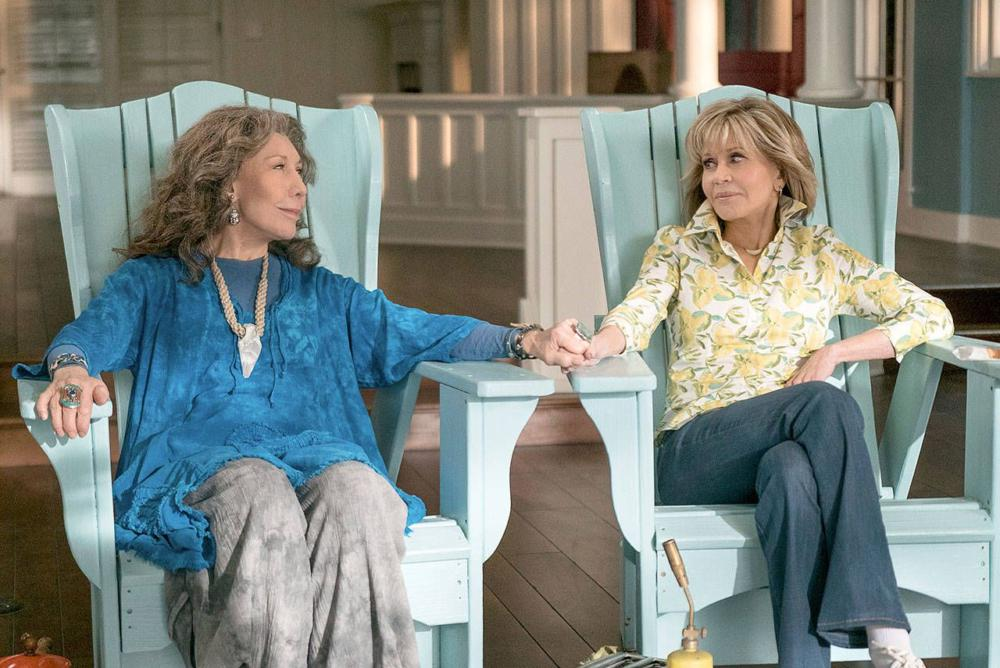 Syndrome consiglia: Grace and Frankie